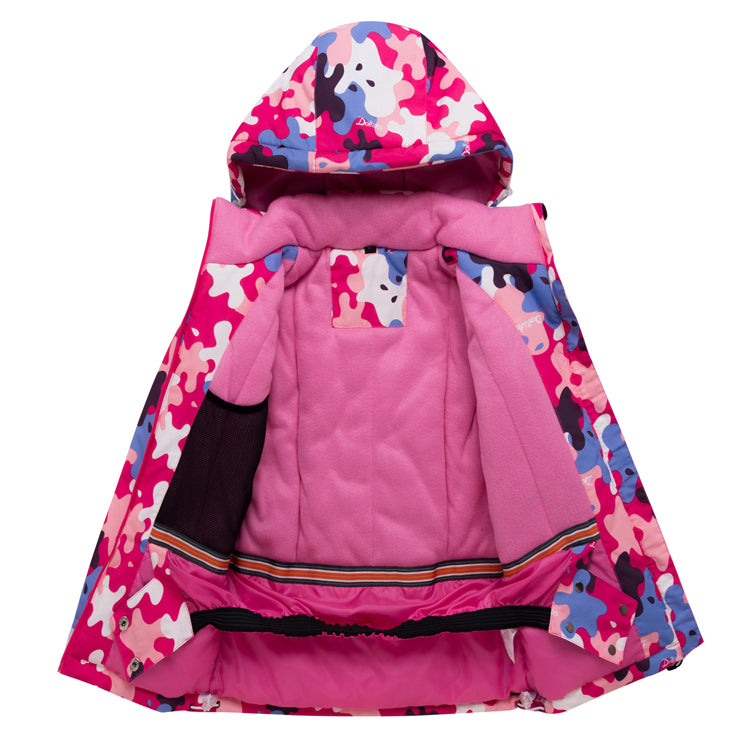 Girls Arctic Queen Fashion Cute Winter Sports Waterproof Snow Suits