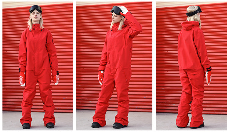 Doorek Superb One Piece Ski Suits Winter Snowsuits