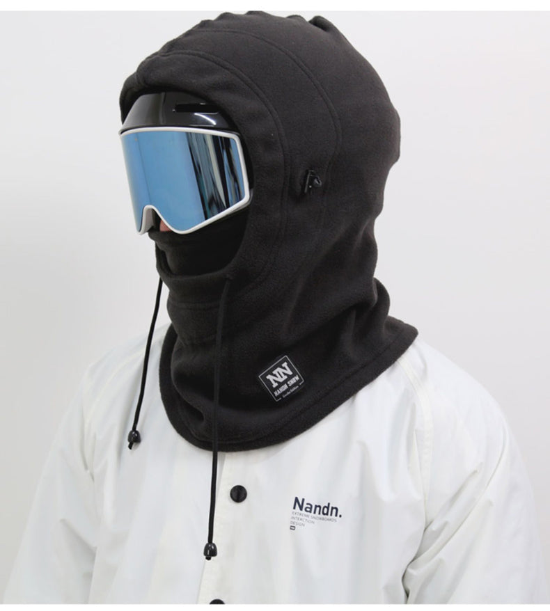 Unisex Nandn Outerwear Hooded Facemask