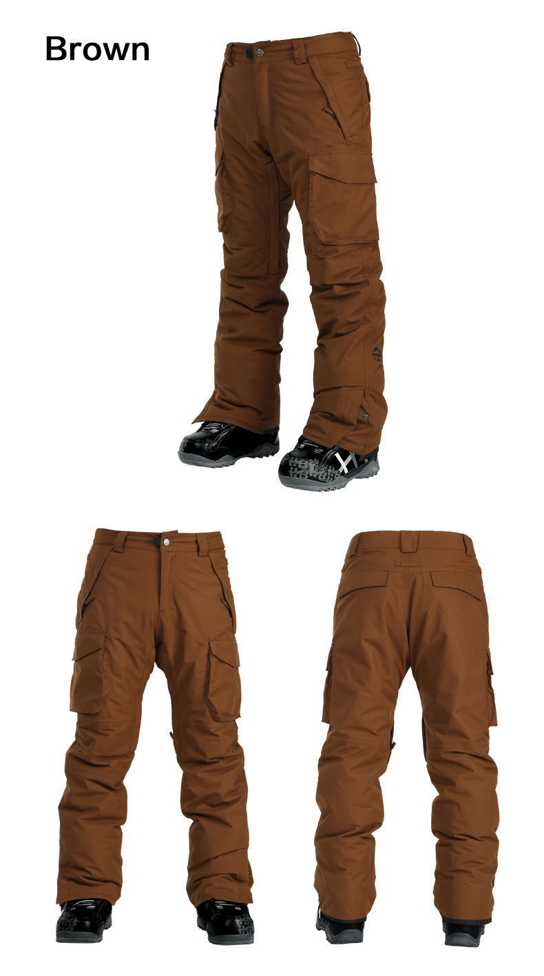 Men's Nandn Snow Storm Snowboard Pants - Couple Style