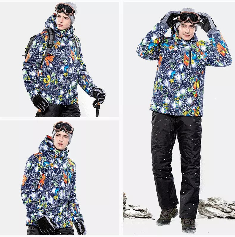 Men's High Experience Snow Carnival 15k Waterproof Ski Jacket