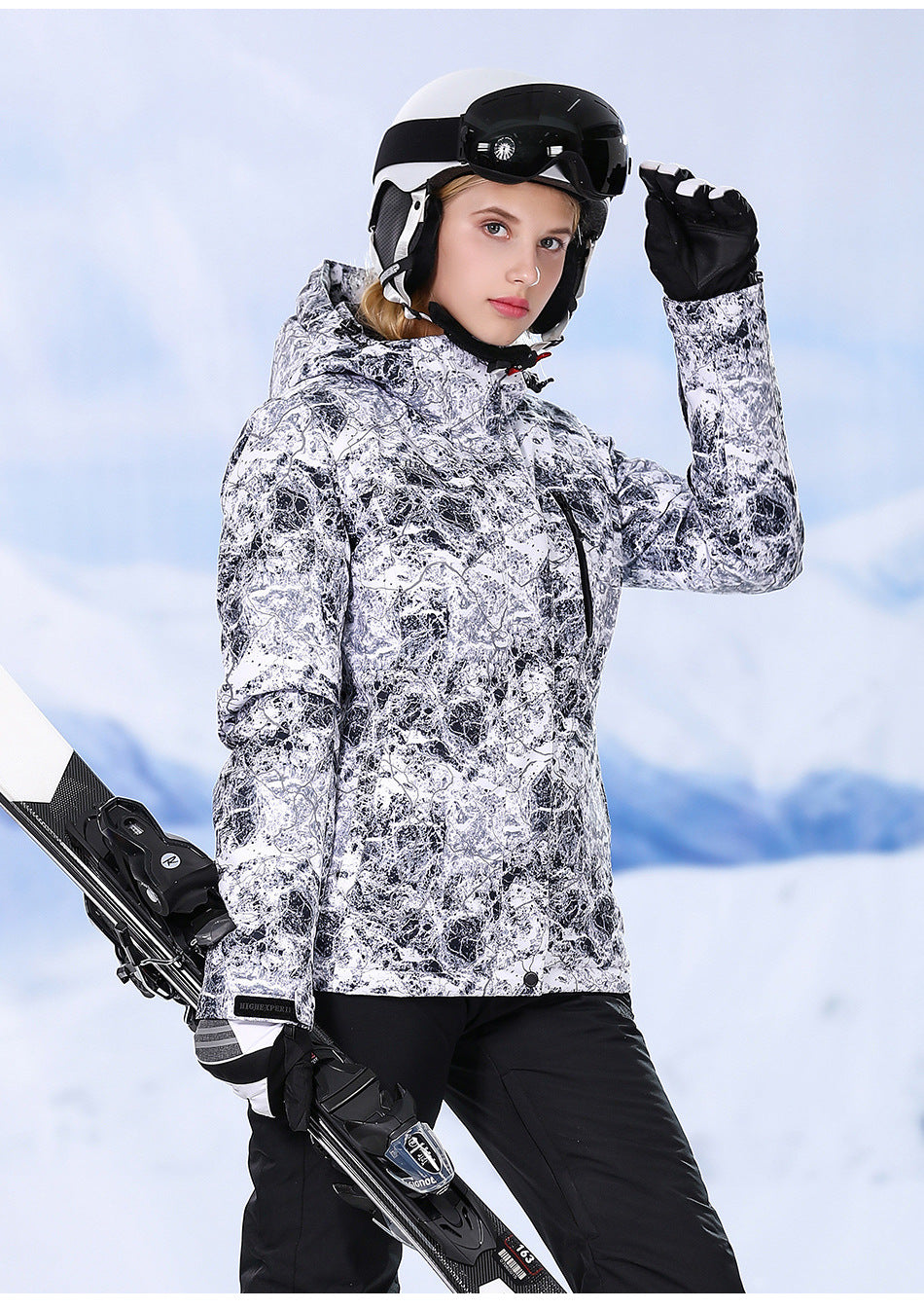 Women's High Experience Winter Explore Ski Jacket