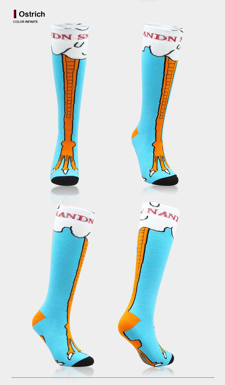 Nandn Animal Friendly Ski & Snowboard Socks