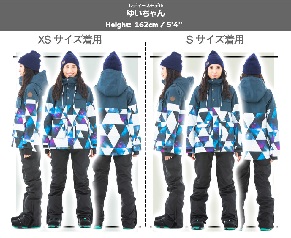 Women's Secret Garden Grande Type-B Solid Color Snowboard Jacket