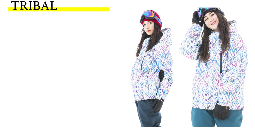 Women's Japan Secret Garden Unisex Regular Series Ski Jacket