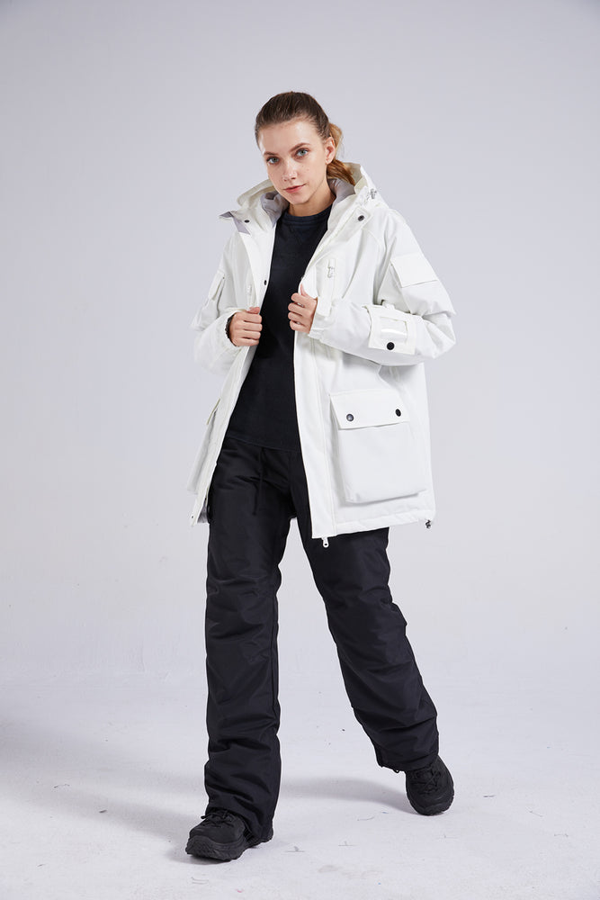 Women's Mad Craft Winter Cold Ladies Snow Jacket & Pants Set