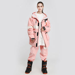 Women's Unisex Cosone Winter Haven Snowsuits Jacket & Pants Set