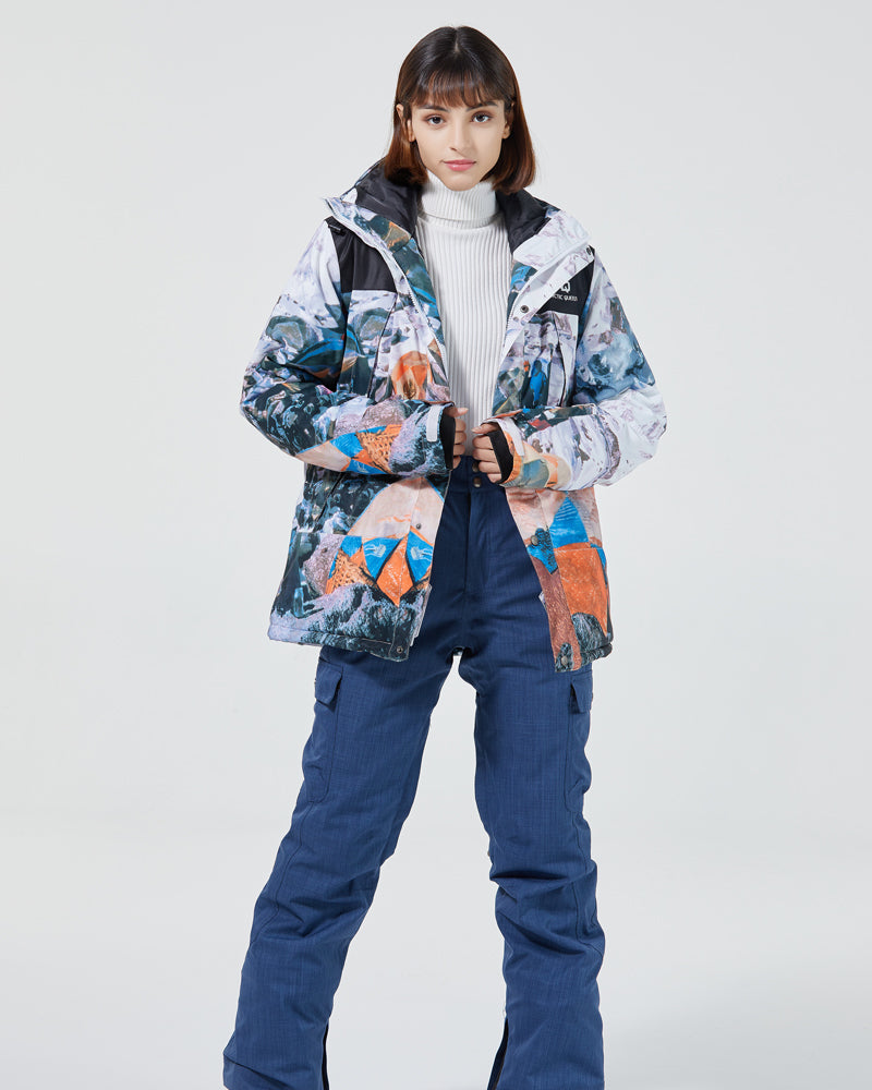 Women's Adventure Mountain Extreme Snow Sports Winter Ski Snowboard Jacket