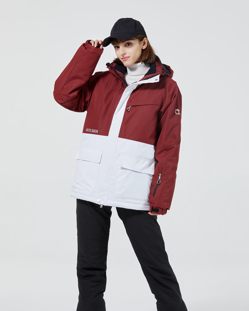 Women's Arctic Queen All Weather Winter Sports Waterproof Snowboard Jacket