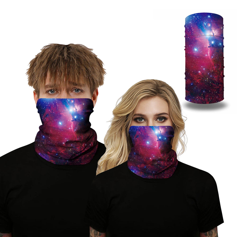 Unisex Fancy Color Face Masks & Neck Warmer