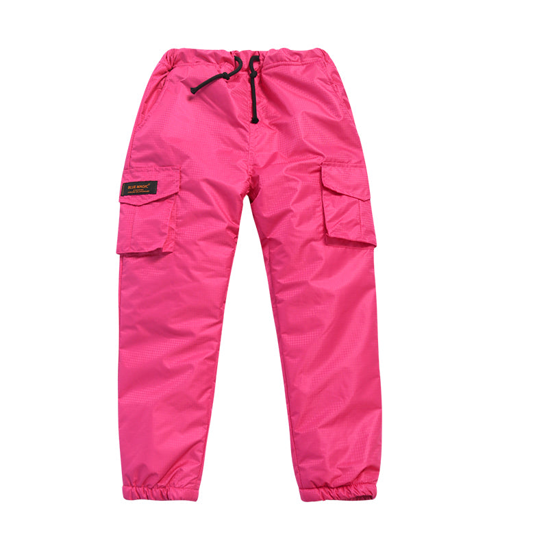 Girl's Blue Magic Mountain Outdoor Winter Snowboard Ski Pants