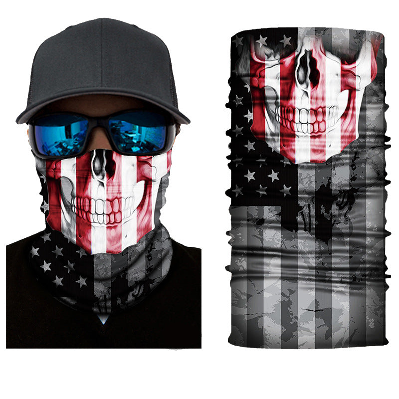 Unisex American Horror 3D Face Masks & Neck Warmer