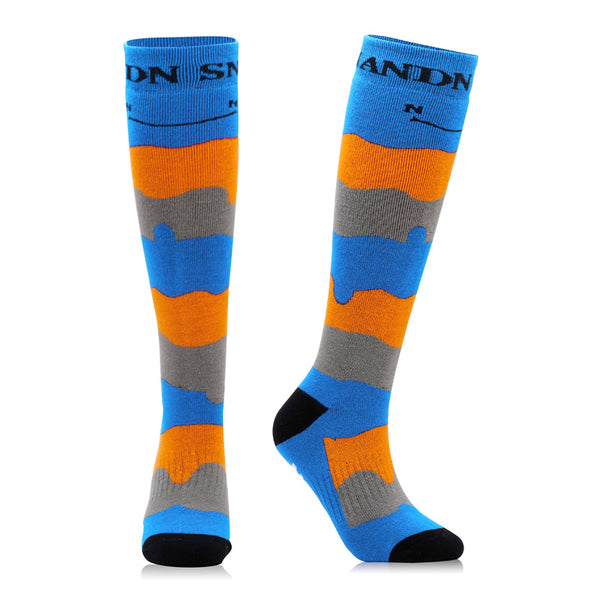Nandn Colorful Stripe Unisex Ski & Snowboard Socks