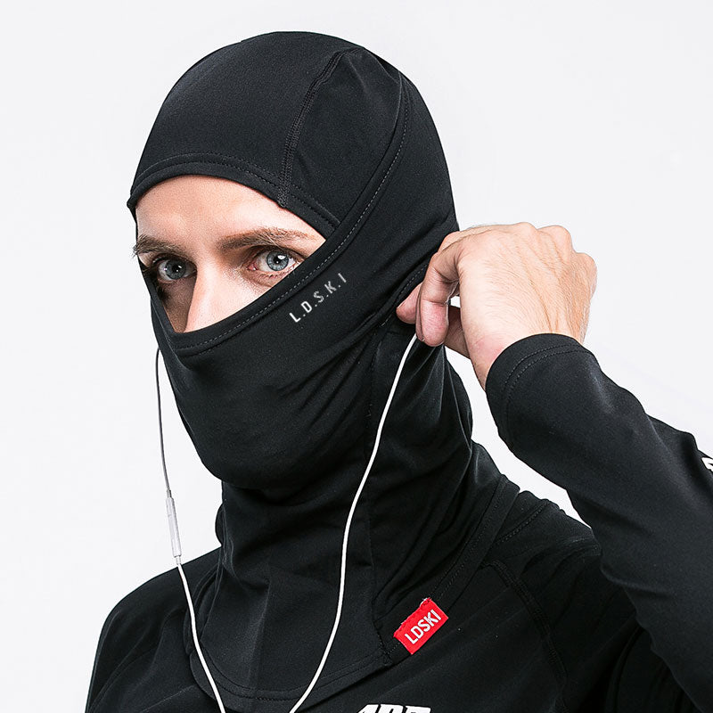 Unisex LD Ski Polar Fleece Airhood Facemask