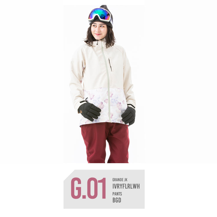 Women's Japan Secret Garden Grande Series Winter Snowboard Suits