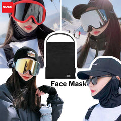 Unisex Nandn Hooded Facemask & Neck Warmer