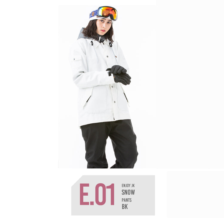Women's Japan Secret Garden Enjoy Series Winter Snowboard Suits