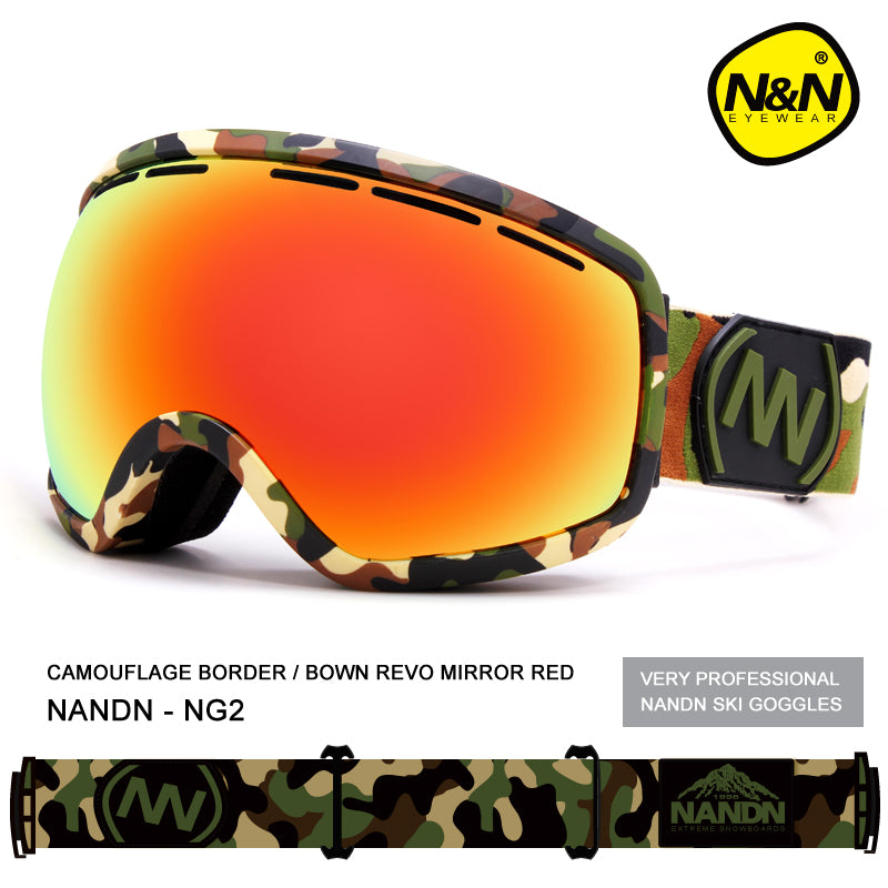 Unisex Nandn Project Snowboard Goggles
