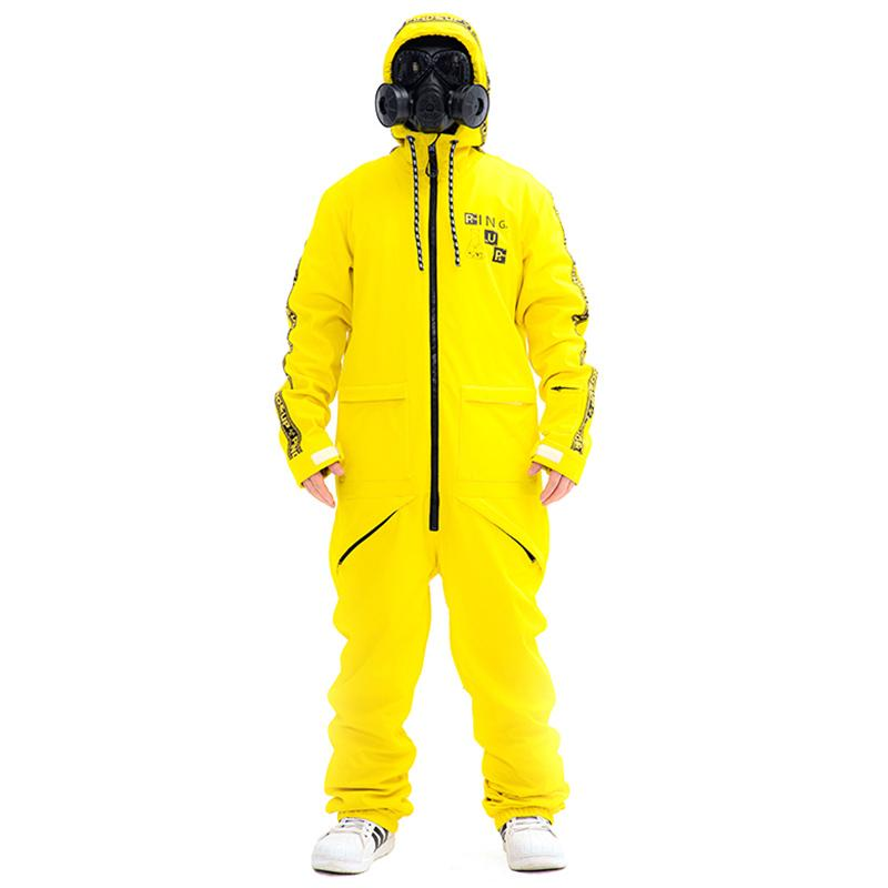 Men's PINGUP Poison Artist One Piece Ski Suits