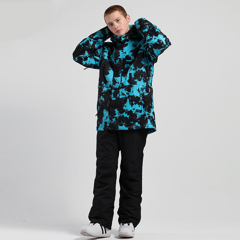 Men's SMN Bring On The Snow Freestyle Winter Snow Jacket & Pants