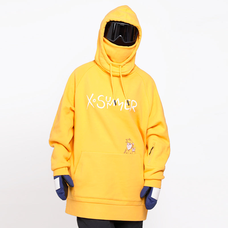 Men's X-Summer Snow Mascot Mountain Snow Hoodie