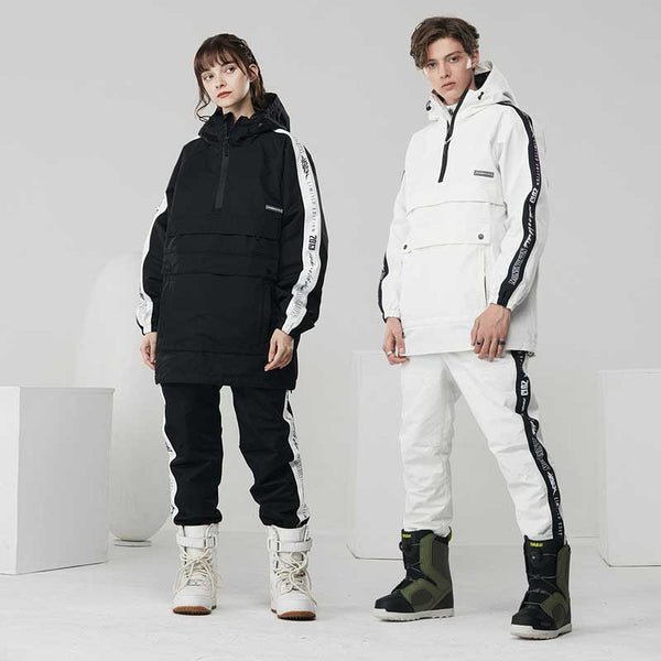 Mens Nandn Two Pieces Snowboard Suit - Jacket & Pants Set