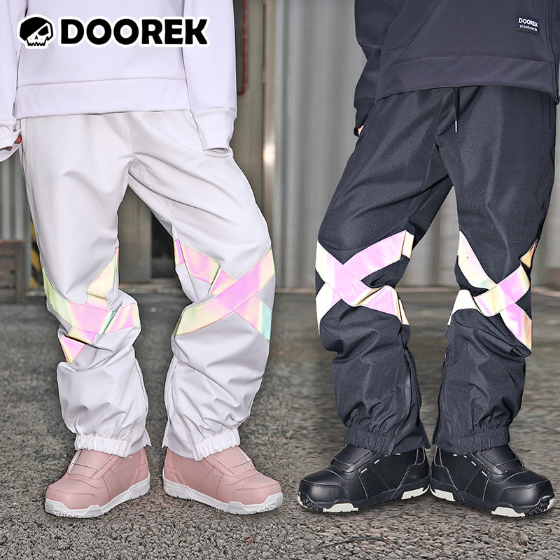 Women's Unisex Doorek Superb Neon Winter Snow Pants