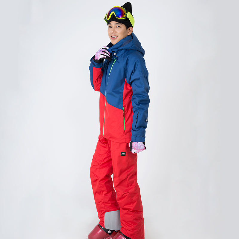 Northfeel Brand Men's 10k Waterproof Colorful Ski Suits - Multi Colors