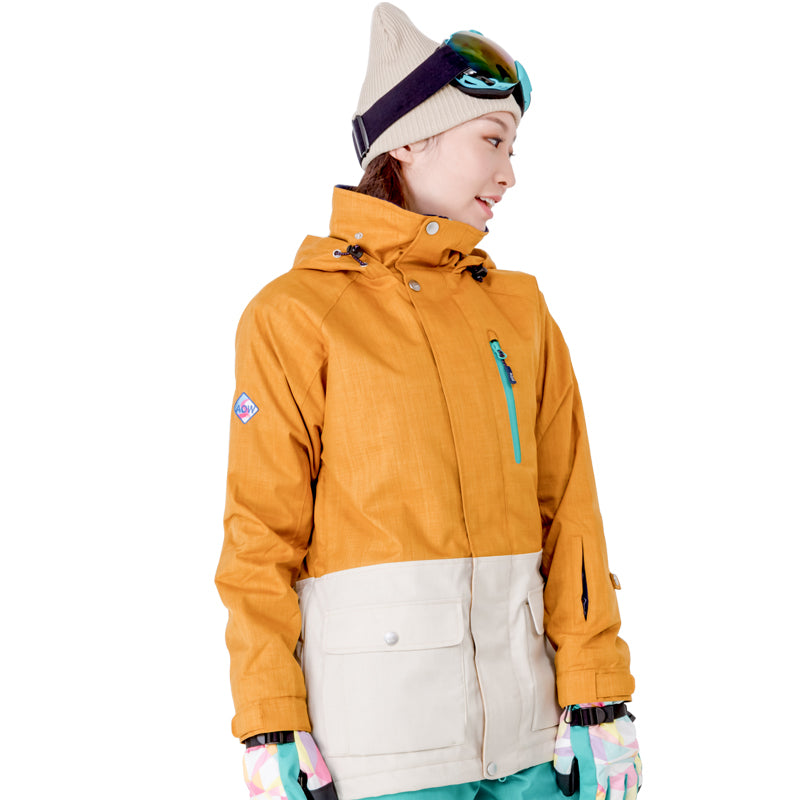 Japan Brand Northfeel Women's 10k Waterproof Ski Jacket
