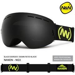 Unisex Nandn Fall Line Colorful Snow Goggles