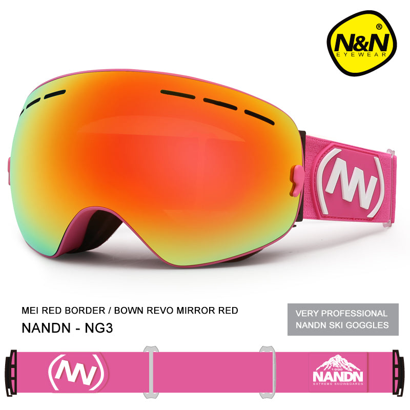 Colorful Nandn Fall Line Ski Goggles