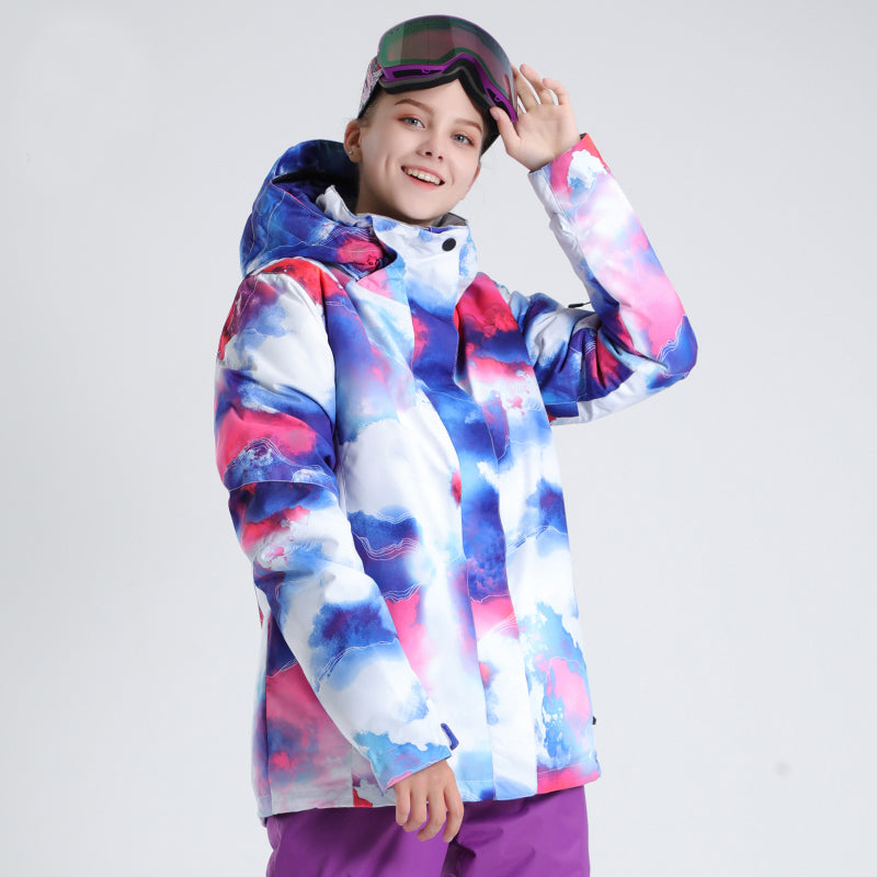 Women's SMN Winter Fshion Everbright Ski Jacket