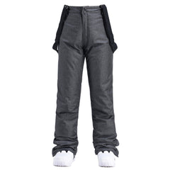 Men's Insulated Aurora Winter Outdoor Snow Pants Ski Bibs