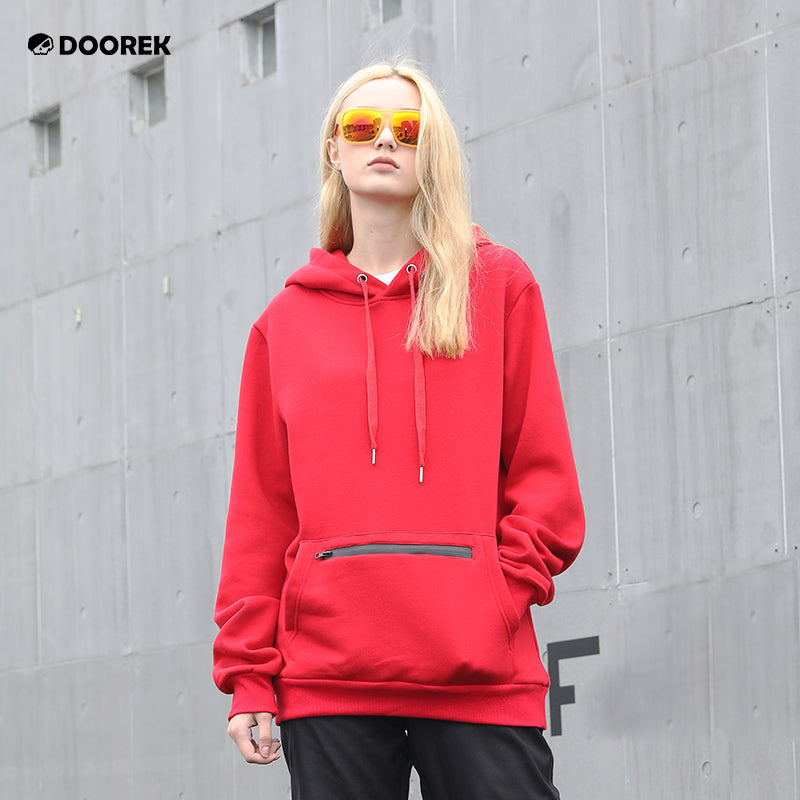 Women's Doorek Unisex Graphic Print Winter Sports Snow Hoodie