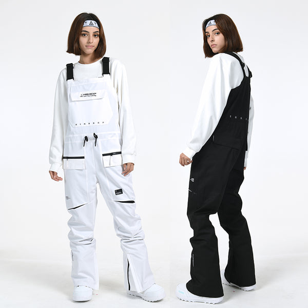 Men's Slim Fit Winter Ski Pants Overall Bib Snowboard Pants