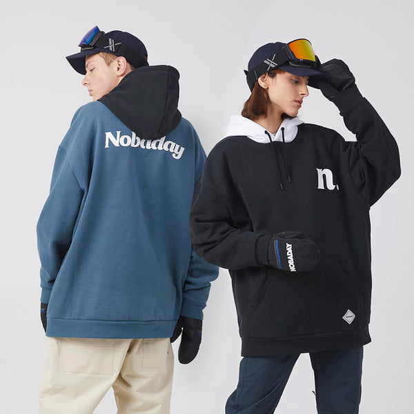 Women's Unisex Nobaday X-Summer Ned Eteach Fleece Snow Hoodie