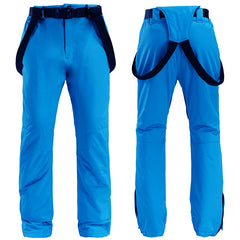 Men's Unisex Winter Skye Outdoor Snow Pants Ski Bibs