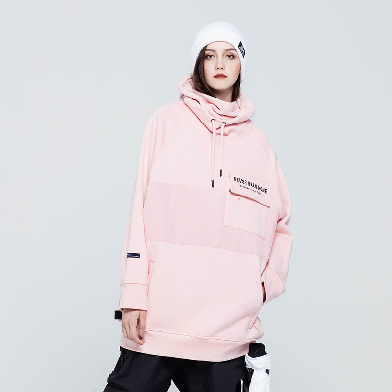Women's Winter Sports Never Been Done Dope Snow Hoodie