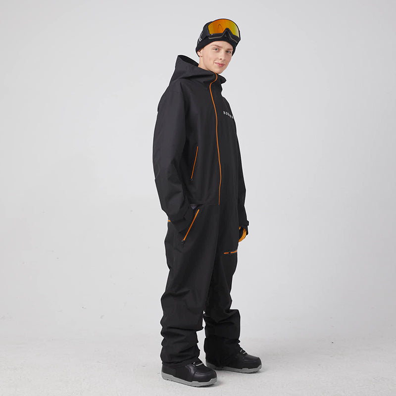 Men's Unisex Nobaday Katz One Piece Ski Jumpsuit Winter Snowsuits