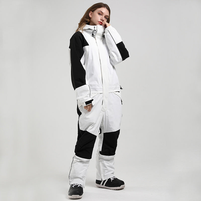 Women's Mountain Destroyer Snowshred One Piece Ski Jumpsuit Snowsuits