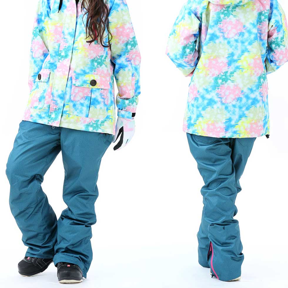 Japan Activerison Women's Experience The Wild Snowboard Pants