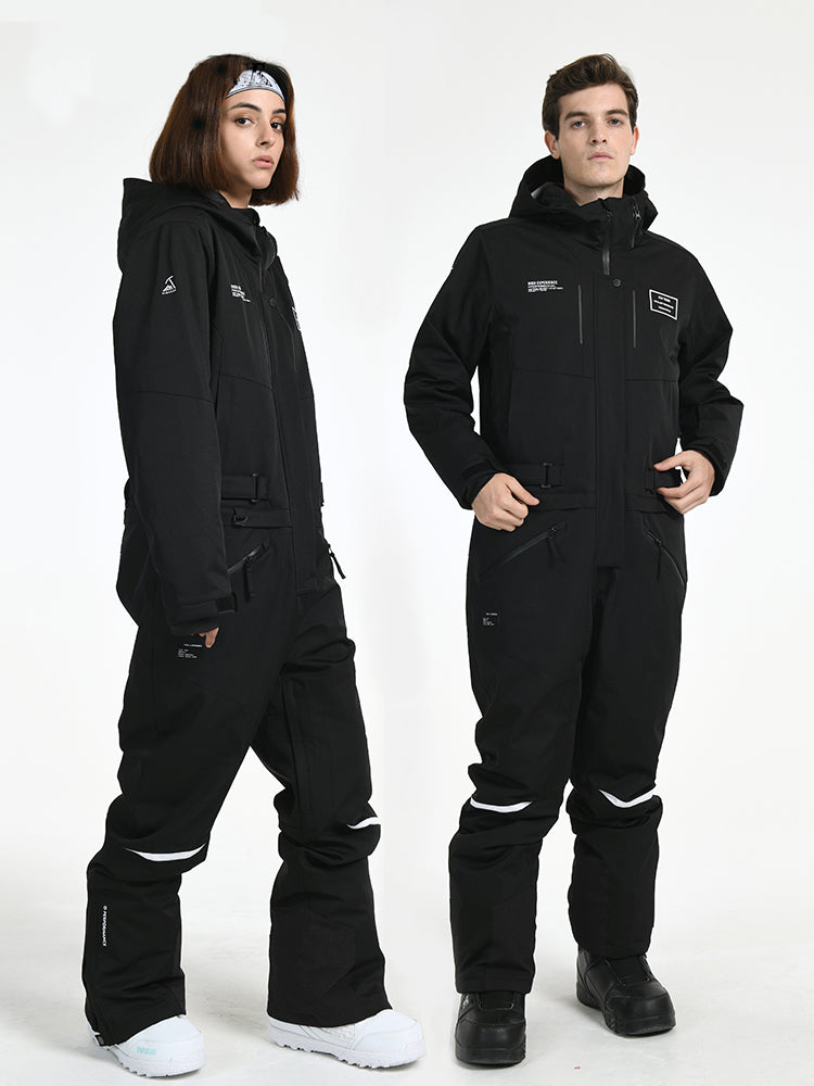 Men's High Experience Unisex One Piece Winter Pioneer Snowsuit Ski Jumpsuit