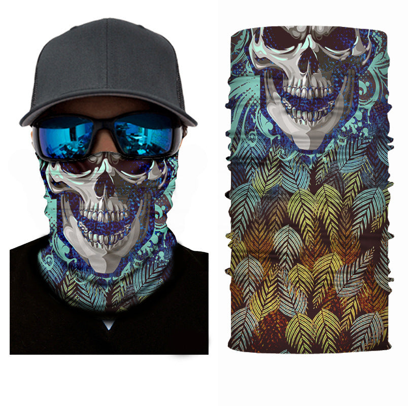Men's 3D Skull Face Masks & Neck Warmer