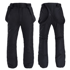 Women's Unisex Winter Skye Outdoor Snow Pants Ski Bibs