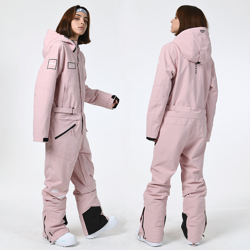 Women's High Experience Unisex One Piece Winter Pioneer Snowsuit Ski Jumpsuit