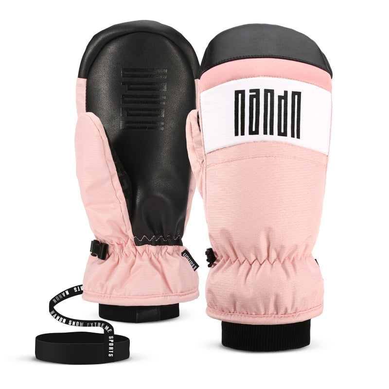 Women's Nandn Winter All Weather Snowboard Ski Mittens