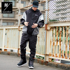 Mens Unisex Mad Craft Two Pieces Active Sports Suit