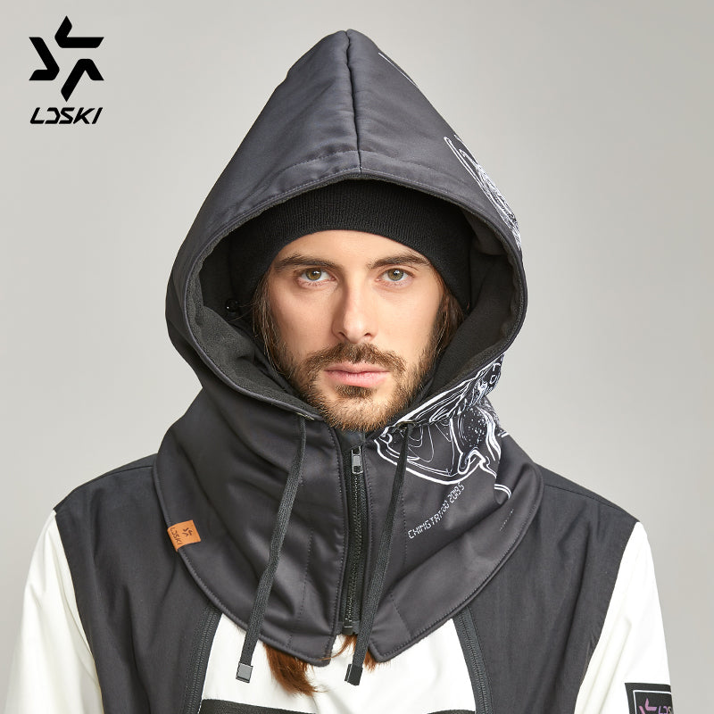 Unisex LD Ski Softshell Polar + DryTech Hooded Facemask