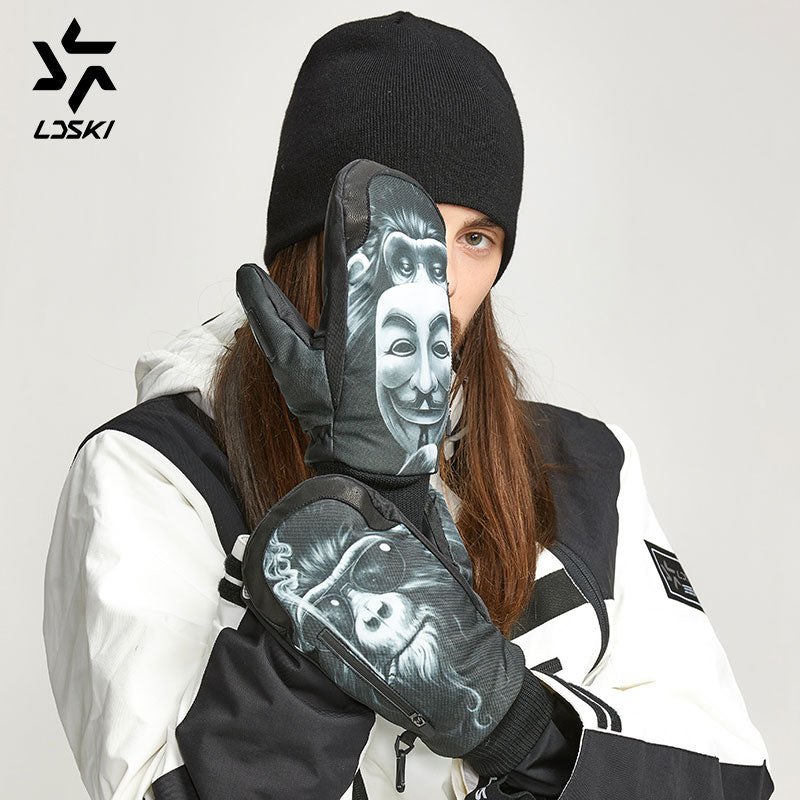 Men's LD Ski Rely Snow Mittens