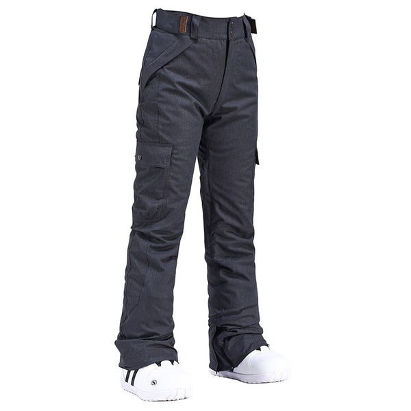 Men's Snow Copper Insulated Waterproof Winter Snowboard Ski Bib Pants